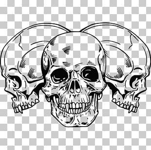 Tattoo Human Skull Symbolism Drawing Skeleton PNG