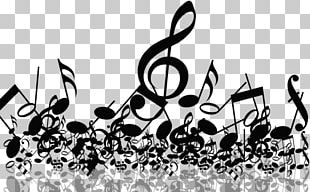 Musical Note Ornament Sheet Music PNG