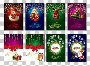 Santa Claus Christmas Card Gratis PNG