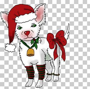 Christmas Ornament Canidae Santa Claus Dog PNG