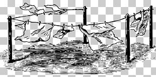 Clothes Line Clothing Line Art PNG