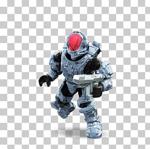 Master Chief Mega Blocks Halo Micro Action Figures Charlie Series Spartan Factions Of Halo Mega Brands PNG
