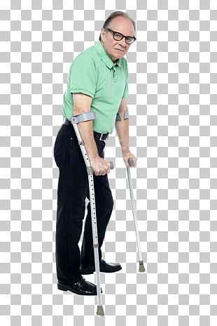 Crutch Disability Stock Photography Old Age PNG