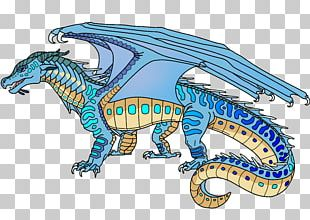 Wings Of Fire Dragon Darkstalker Colored Fire PNG