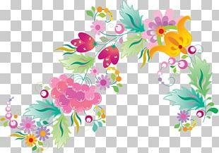 Floral Design Pattern PNG