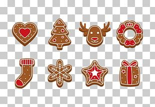 Gingerbread House Icing Gingerbread Man Christmas PNG