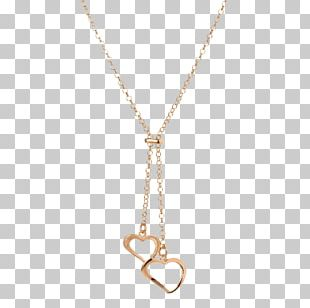 Necklace Chain Metal Jewellery Human Body PNG