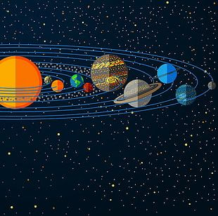 Solar System Planet Jupiter Illustration PNG