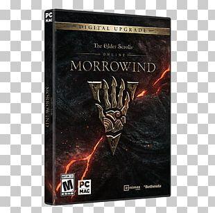 Elder Scrolls Online: Morrowind The Elder Scrolls III: Morrowind ZeniMax Online Studios PlayStation 4 Video Game PNG