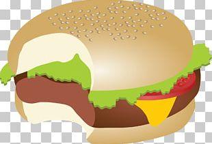 Hamburger Cheeseburger Fast Food Veggie Burger Submarine Sandwich PNG