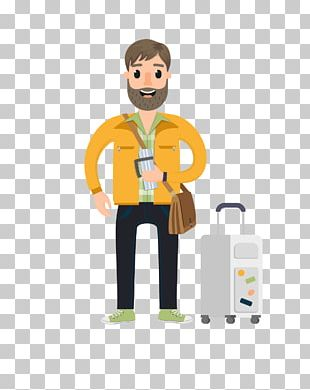 Package Tour Travel Character Vacation PNG
