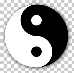 Yin And Yang Symbol Traditional Chinese Medicine Taoism PNG