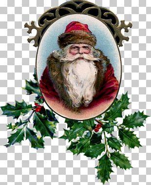 Christmas Ornament Santa Claus Christmas Card Father Christmas PNG