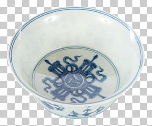 Ceramic Bowl Blue And White Pottery Glass Cobalt Blue PNG