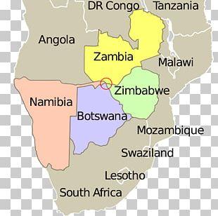 Kazungula Four Corners Monument Botswana–Zambia Border Quadripoint PNG