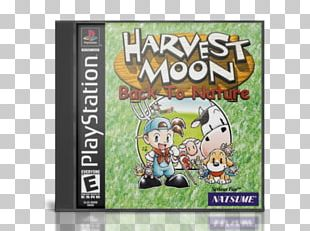 Harvest Moon: Back To Nature Harvest Moon: Save The Homeland Harvest Moon: The Tale Of Two Towns PlayStation PNG