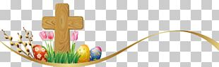 Easter Egg Cross PNG