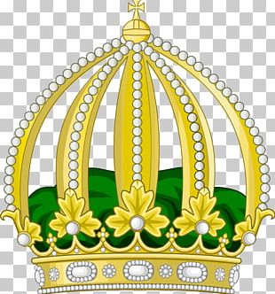 Empire Of Brazil Imperial Crown Coat Of Arms PNG