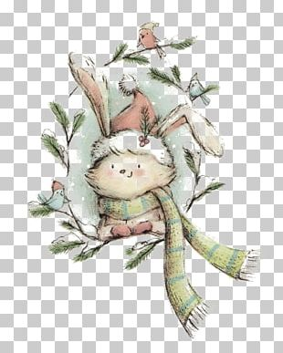 Rabbit Illustrator Drawing Art Illustration PNG