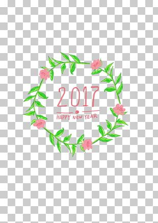 Chinese New Year Garland New Years Day PNG