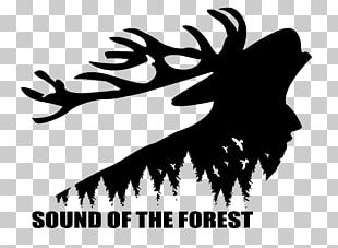 Logo Reindeer Sound Of The Forest Silhouette Graphic Design PNG