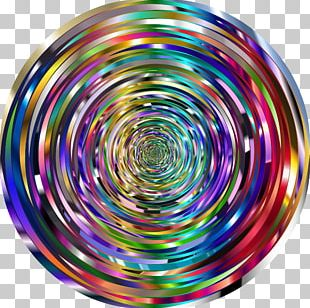 Circle Spiral Purple Violet Vortex PNG