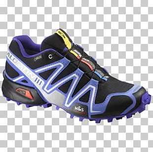 Salomon Group Trail Running Shoe Sneakers Boot PNG