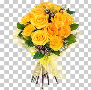 Flower Bouquet Cut Flowers Rose Floral Design PNG