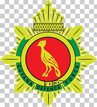 Military Guyana Defence Force Coat Of Arms Symbol Angkatan Bersenjata PNG