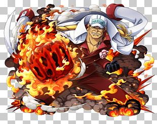 Akainu Monkey D. Luffy One Piece Treasure Cruise Usopp PNG
