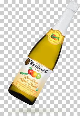 Apple Juice Liqueur Martinelli's PNG