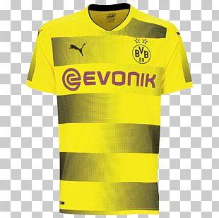 Borussia Dortmund T-shirt Jersey Puma PNG