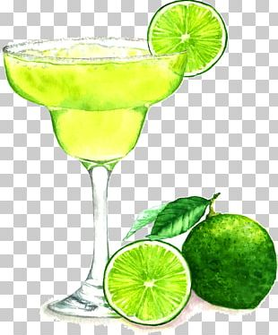 Cocktail Juice Margarita Drawing PNG