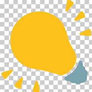 Emoji Incandescent Light Bulb Lighting Electricity PNG