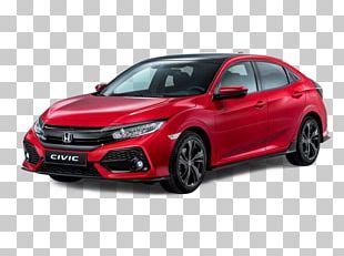 Honda Civic Type R Car Honda HR-V 2018 Honda Civic Hatchback PNG