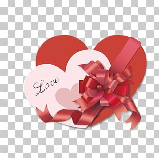 Heart Valentine's Day Gift Love PNG