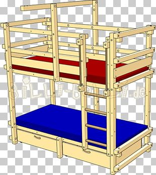 Bunk Bed Table Furniture Bedroom PNG