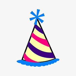 Cartoon Birthday Hat PNG