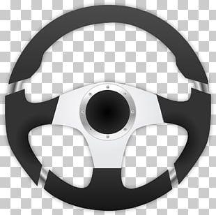 Car Driving Steering Wheel PNG