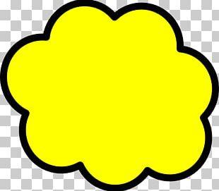 Speech Balloon Bubble Cloud PNG