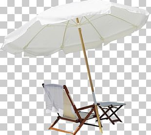 Exuma Beach Umbrella Chair Strandkorb PNG