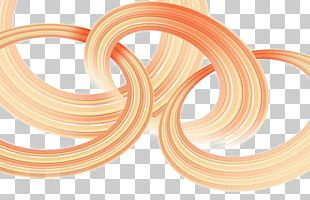 Orange Geometric Shape Geometry Circle PNG