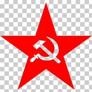 Soviet Union Hammer And Sickle Russian Revolution Communist Symbolism Red Star PNG