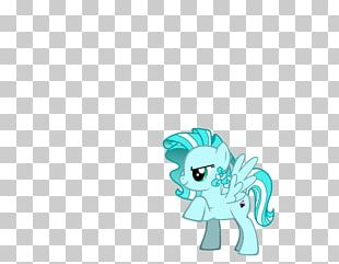 Turquoise Blue Green Teal Horse PNG