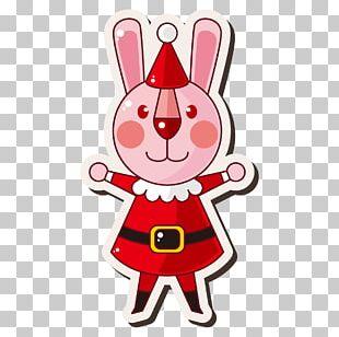 Santa Claus Christmas Cartoon Gift PNG