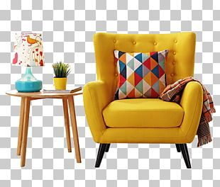 Window Living Room Curtain Couch Furniture PNG