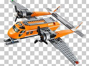 Airplane Lego City Lego Minifigure LEGO 60064 City Arctic Supply Plane PNG