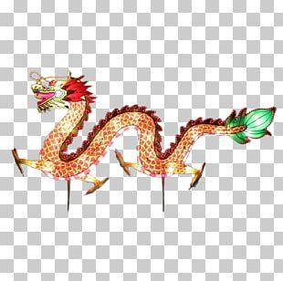 Lantern Festival Dragon Dance PNG
