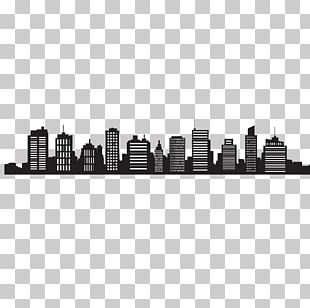 Skyline Cityscape Silhouette PNG