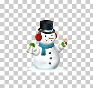 Christmas Snowman Icon PNG